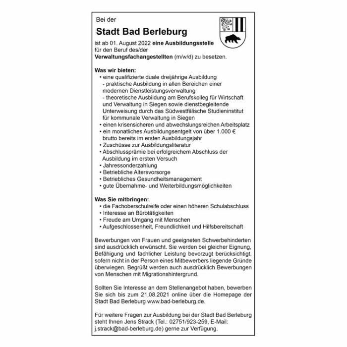 Stadt-Bad-Berleburg-Verwaltungsfachangestellte-15691-24-07-2021