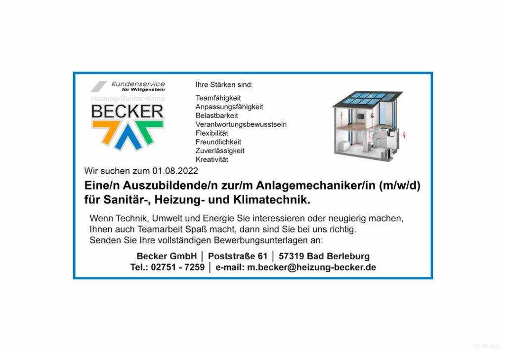 Becker-Heizung-10434-07-08-2021